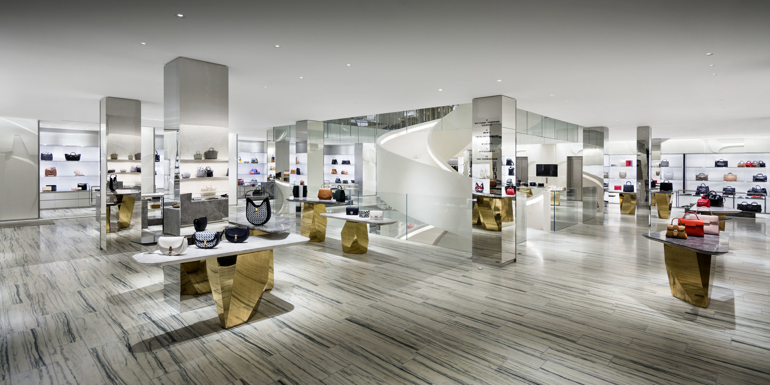 Barneys New York Downtown Flagship - Ground Floor (photo by Scott Frances)