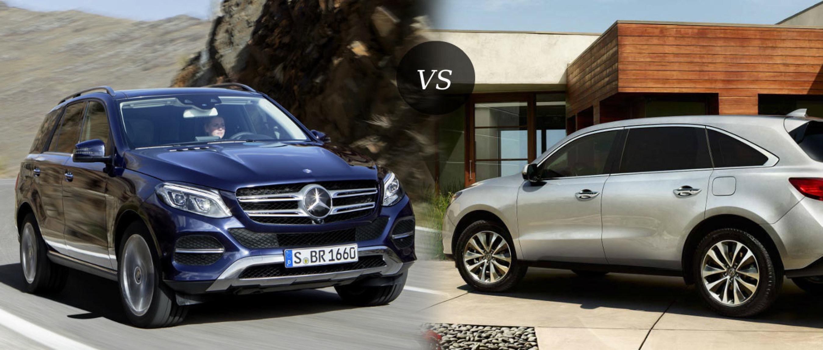 Loeber Motors puts new Mercedes-Benz GLE against Acura MDX in 2016 model comparison