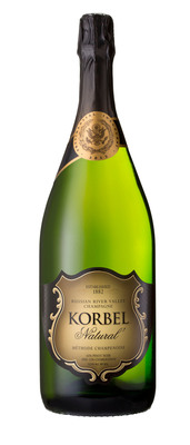 Korbel Champagne Cellars, producer of America's favorite premium champagne, will be there to toast President Barack Obama at the 2013 Congressional Luncheon immediately following the Swearing-In Ceremony on January 21, 2013.  This marks the eighth Presidential Inauguration in which Korbel has been selected for this prestigious honor. Korbel Russian River Valley Natural Champagne - featuring a commemorative neck label including the Inaugural Seal - will be served and raised in toasts to the Obama administration.  (PRNewsFoto/Korbel Champagne Cellars)