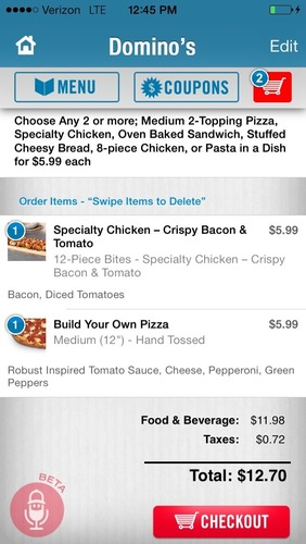 Domino's Pizza is introducing yet another innovation in technology. Beginning today, customers can have ...