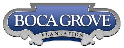 Boca Grove Golf & Tennis Club Logo on white background.