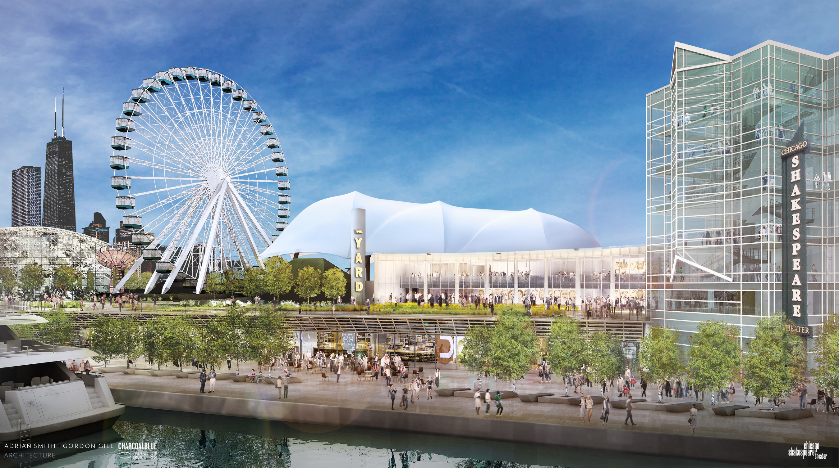 Chicago Shakespeare Theater and Navy Pier, Inc announce plans for an innovative, bold theater space: The Yard ...