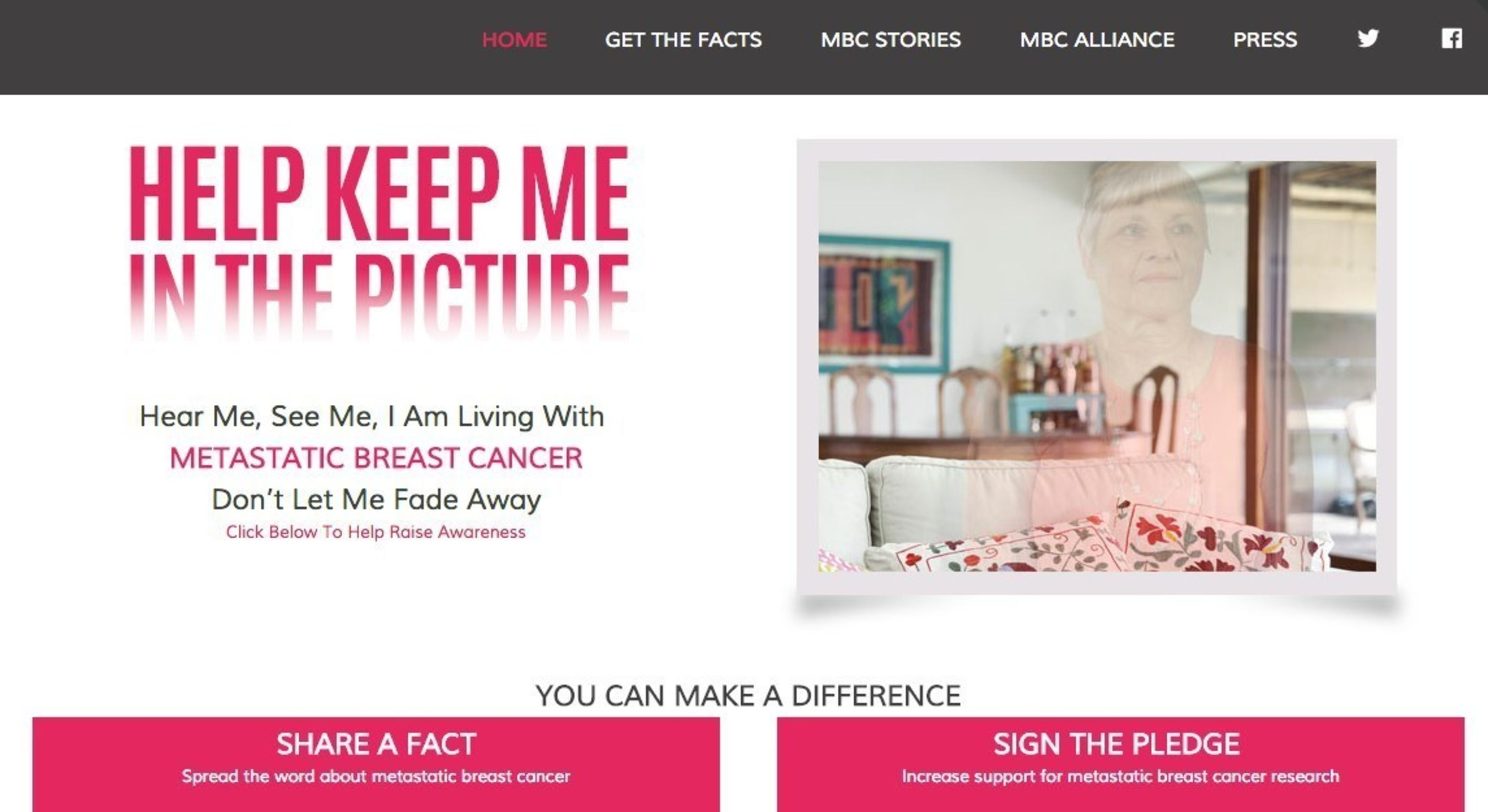 The Metastatic Breast Cancer Alliance Launches Campaign To Raise Awareness And Support For Those With Metastatic Breast Cancer