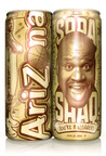 Find the Golden Can! Follow @SHAQ and @DrinkAriZona to Win! For official rules and details go to drinksodashaq.com #SodaShaqGold.  (PRNewsFoto/AriZona Beverages)