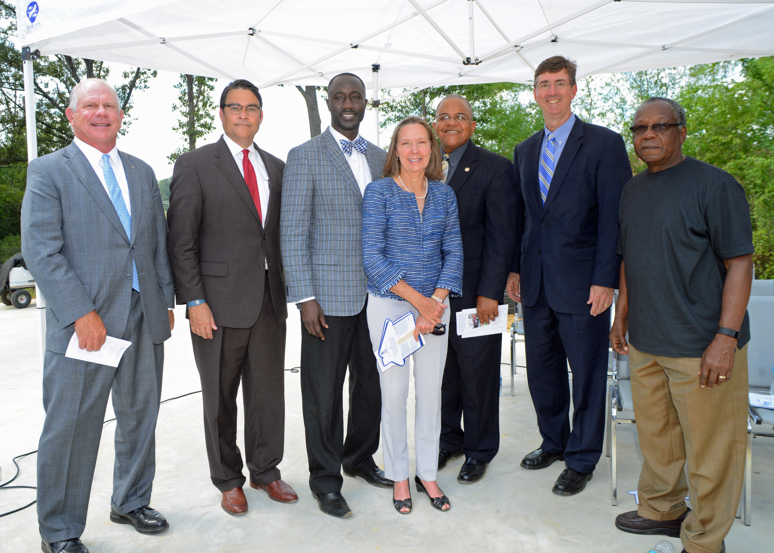 Habitat for Humanity Mississippi Capital Area was joined by Mayor Tony Yarber and representatives from FHLB Dallas to announce the start of revitalization efforts for a blighted area of Jackson, Miss.