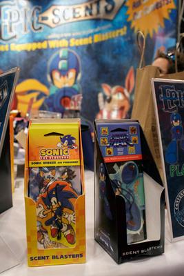 Epic-Scents at New York Comic Con.   (PRNewsFoto/Epic-Scents)