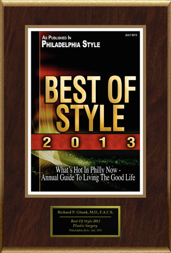 """Dr. Richard P. Glunk M.D. Selected For """"Best Of Style 2013"""".  (PRNewsFoto/American Registry)"""