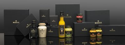 Discover New Mustard Flavours on the New Maille Website Boutique
