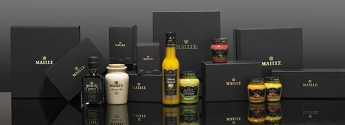 Discover new mustard flavours on the new Maille website boutique (PRNewsFoto/Maille (UK))
