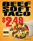 TacoTime Beef Soft Taco only $2.49 for a limited time only!