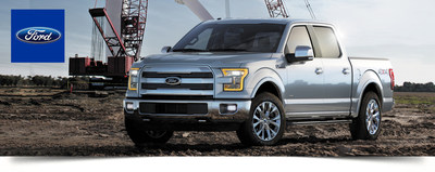 An innovative body design and new power options make the 2015 Ford F-150's power specs exciting. (PRNewsFoto/Dahl Ford)