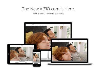 As VIZIO is committed to offering a streamlined, best-in-class shopping experience, the intuitive user interface empowers consumers with convenient research and shopping tools, along with an easy checkout flow. While shopping, consumers can browse highlighted products, learn about key features and benefits of new technology and compare models with ease. A new predictive search tool also makes it easy to find products or customer support information quicker across desktop, tablet or mobile devices. (PRNewsFoto/VIZIO, Inc.)