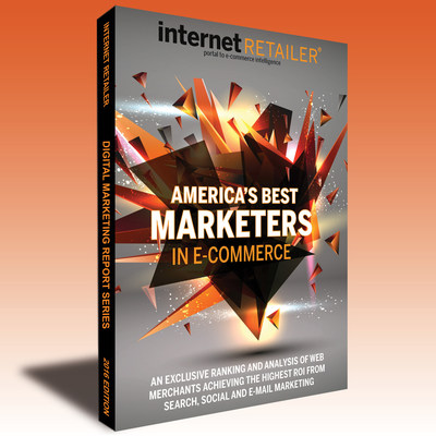 Internet Retailer's four-part 2016 America's Best Marketers in E-Commerce identifies the leading U.S. e-retailers most efficiently and effectively using email, paid search, organic search, and social media marketing to drive consumers to their sites and apps to buy.