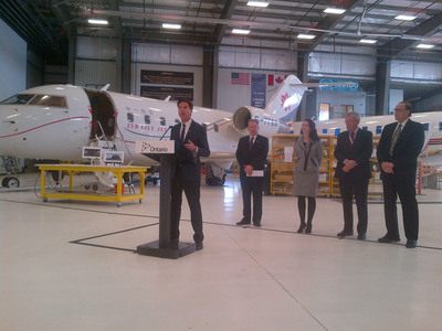 Ontario, Canada Helps Business Take Off at Flying Colours
