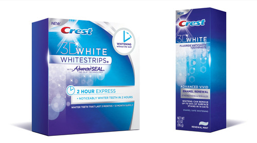 It Just Takes Two... Introducing the New Crest 3D White 2 Hour Express Whitestrips and Crest 3D