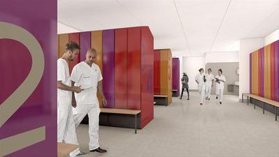 Rendering courtesy of Skanska.  (PRNewsFoto/Otis Elevator Company)