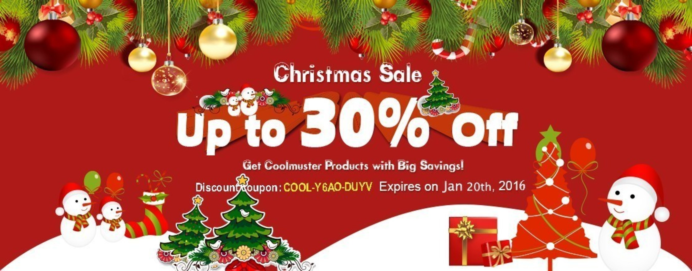 Coolmuster Unveils the Biggest Deal of All Products for the Coming Christmas Season 2015