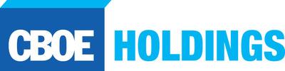 CBOE Holdings, Inc. logo. (PRNewsFoto/CBOE Holdings, Inc.) (PRNewsFoto/)