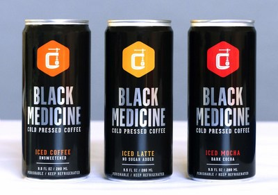The robust, intense flavors of Black Medicine Iced Coffee, Iced Latte, and Iced Mocha now appear in 9.5 oz. cans, for greater convenience and lower prices.