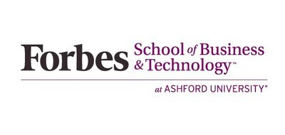 Forbes School of Business & Technology at Ashford University logo.