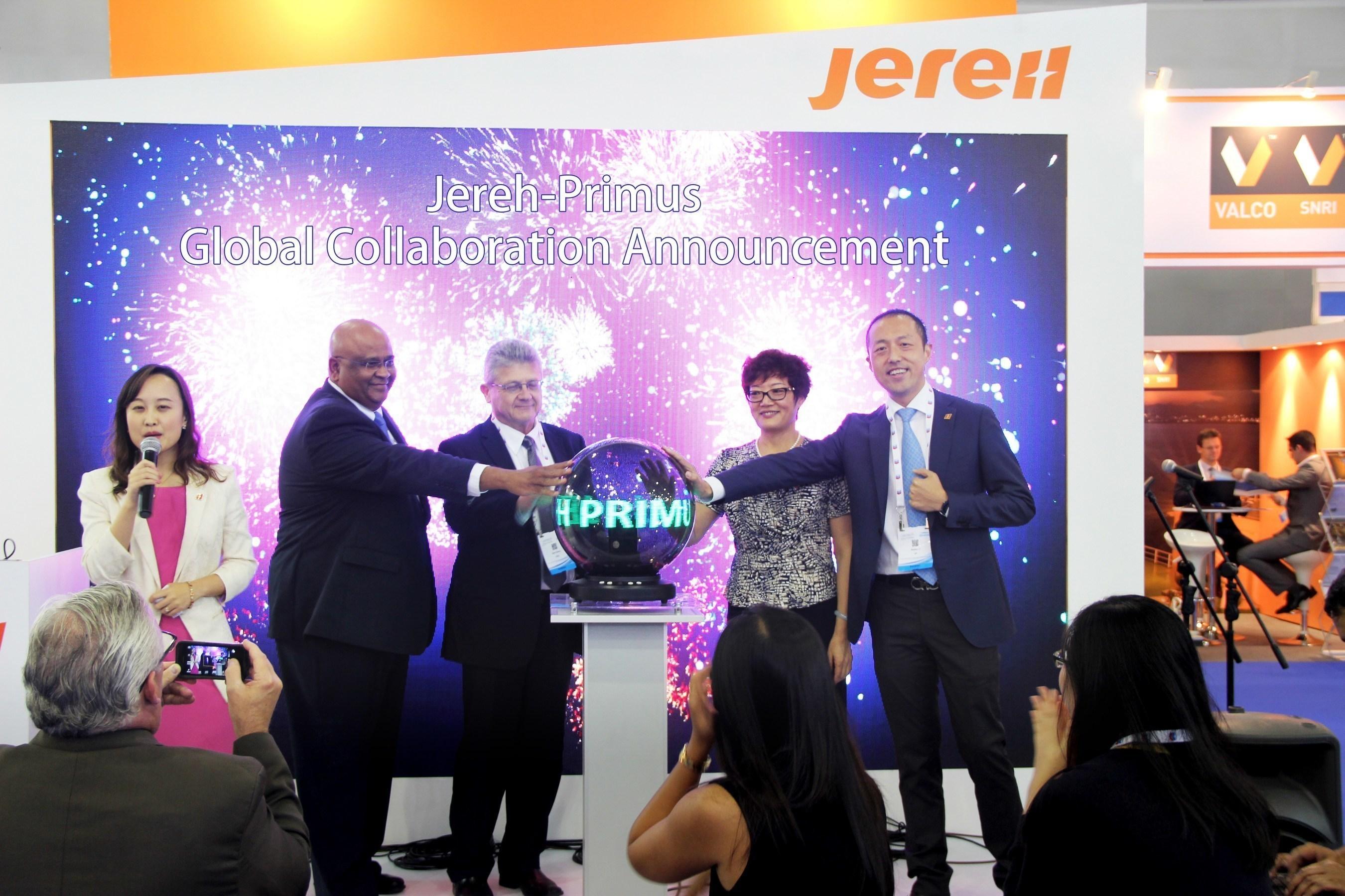 В рамках проходящей выставки Gastech компания Jereh налаживает сотрудничество в сфере разработки