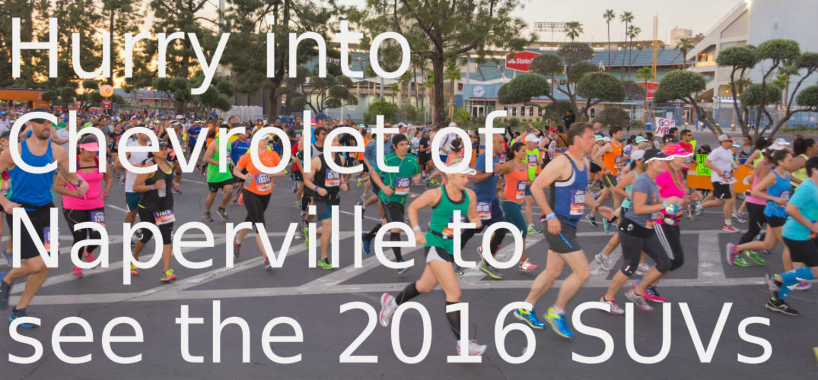2016 models arrive to Chevrolet of Naperville