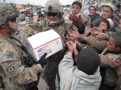 From Saturday, November 7 to Wednesday November 11 (Veteran's Day) Cinnabon(R) will be donating $1.20 for every CinnaPack(TM) purchased to Operation Gratitude. Operation Gratitude shows support and appreciation to U.S. service members through the delivery of personalized care packages.