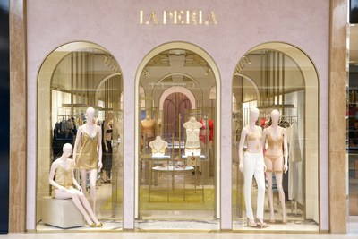 La Perla South Coast Plaza Facade