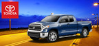 The 2014 Toyota Tundra is a large capable full-sized truck that provides plenty of power and towing capabilities for those looking for a bigger, stronger, and more reliable vehicle. (PRNewsFoto/Don Jacobs Toyota)