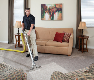 New Study Released at 2013 Annual Meeting of the American College of Allergy, Asthma & Immunology Proves Stanley Steemer Deep Cleaning Process Removes Up To 97 Percent of Surface Allergens and Significant Amount of Airborne Allergens.  (PRNewsFoto/Stanley Steemer)