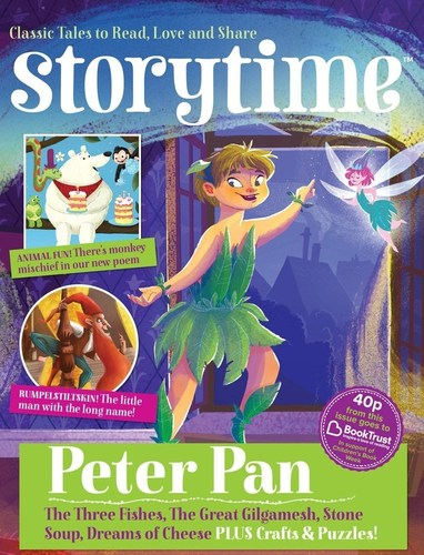 The July issue of Storytime magazine (PRNewsFoto/Book Trust; Storytime) (PRNewsFoto/Book Trust; Storytime)