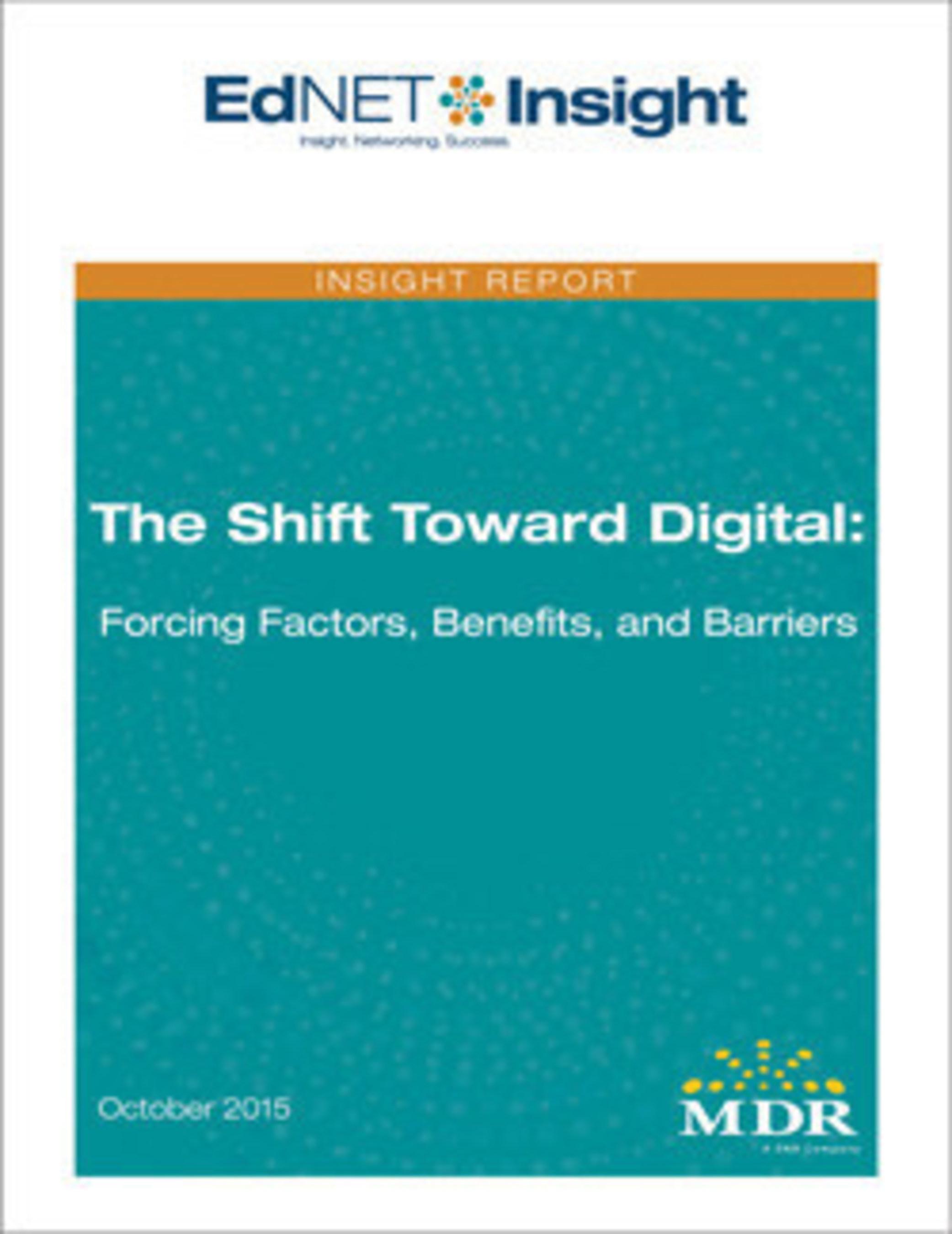 Education's Shift Toward Digital Instructional Materials Is Accelerating
