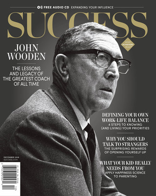 Coach Wooden has impacted the lives of thousands of people--athletes, coaches, entertainers and business people alike. SUCCESS explores how the greatest coach of all time's philosophies still influence people to this day.