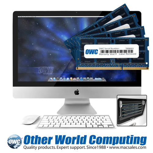 Upgrading the memory of the latest iMac models gives you more options and better performance. It's a low-cost improvement that gives Apple's latest OSX — including the upcoming Mavericks release — the space it needs for maximum performance. For ...