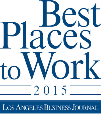 The Los Angeles Business Journal names Velocify one of the Best Places to Work in 2015