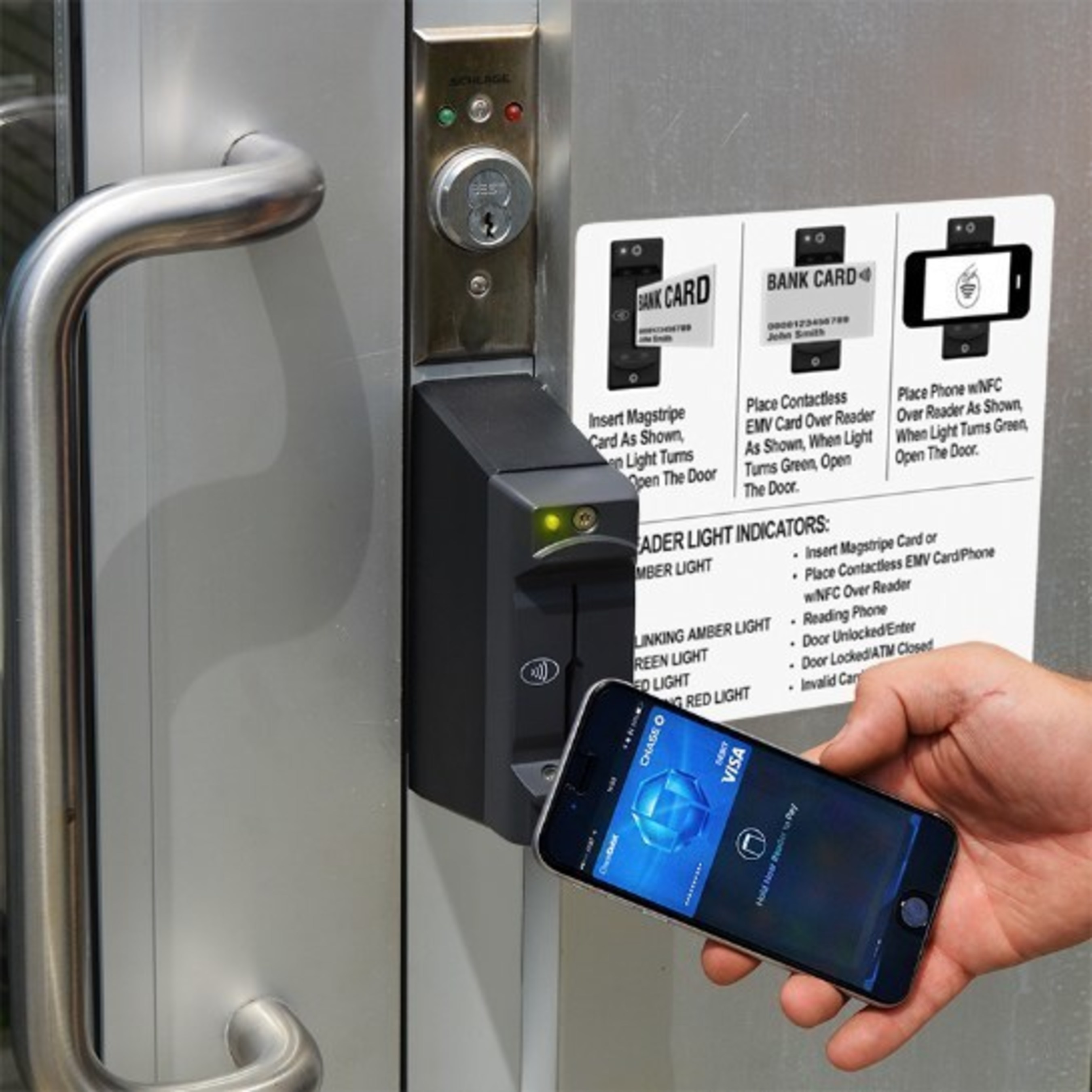 Parabit Adds Mobile NFC / Contactless EMV Access Control to secure ATM Lobbies with Overlay and RFID Skimmer Detection - MMR
