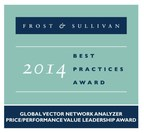 Anritsu Company Earns VNA Price-to-Performance Leadership Award from Frost & Sullivan