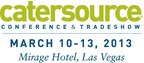 2013 Catersource Conference & Tradeshow, March 10-13 in Las Vegas.  (PRNewsFoto/Catersource Conference & Tradeshow)