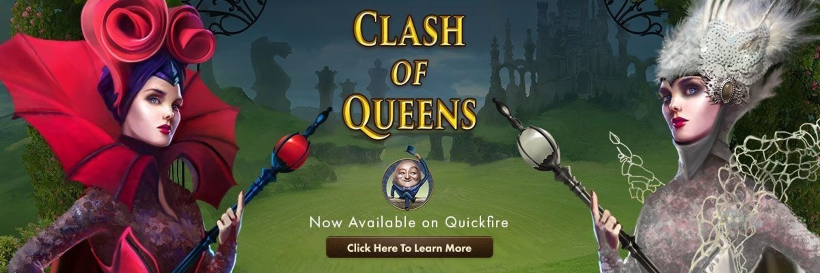Genesis Gaming Announces Clash Of Queens Video Slot Game, Available on the Quickfire Network