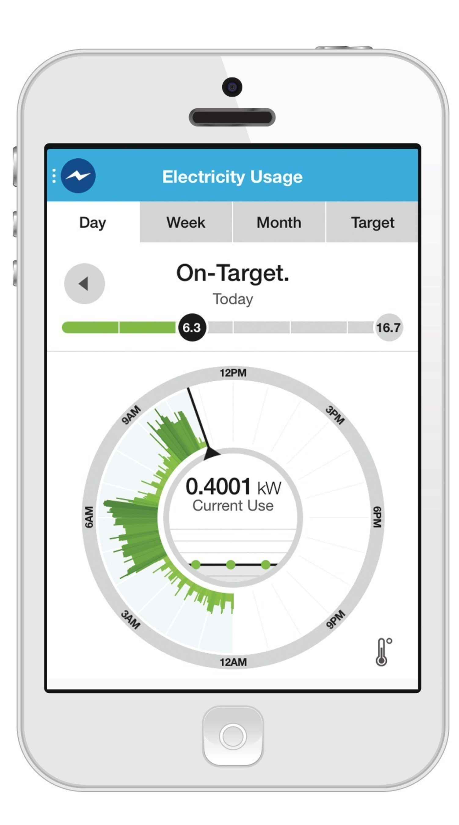 DTE Insight electricity usage