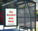 Historic Los Angeles City Council vote bans alcohol ads from city-owned & controlled property.