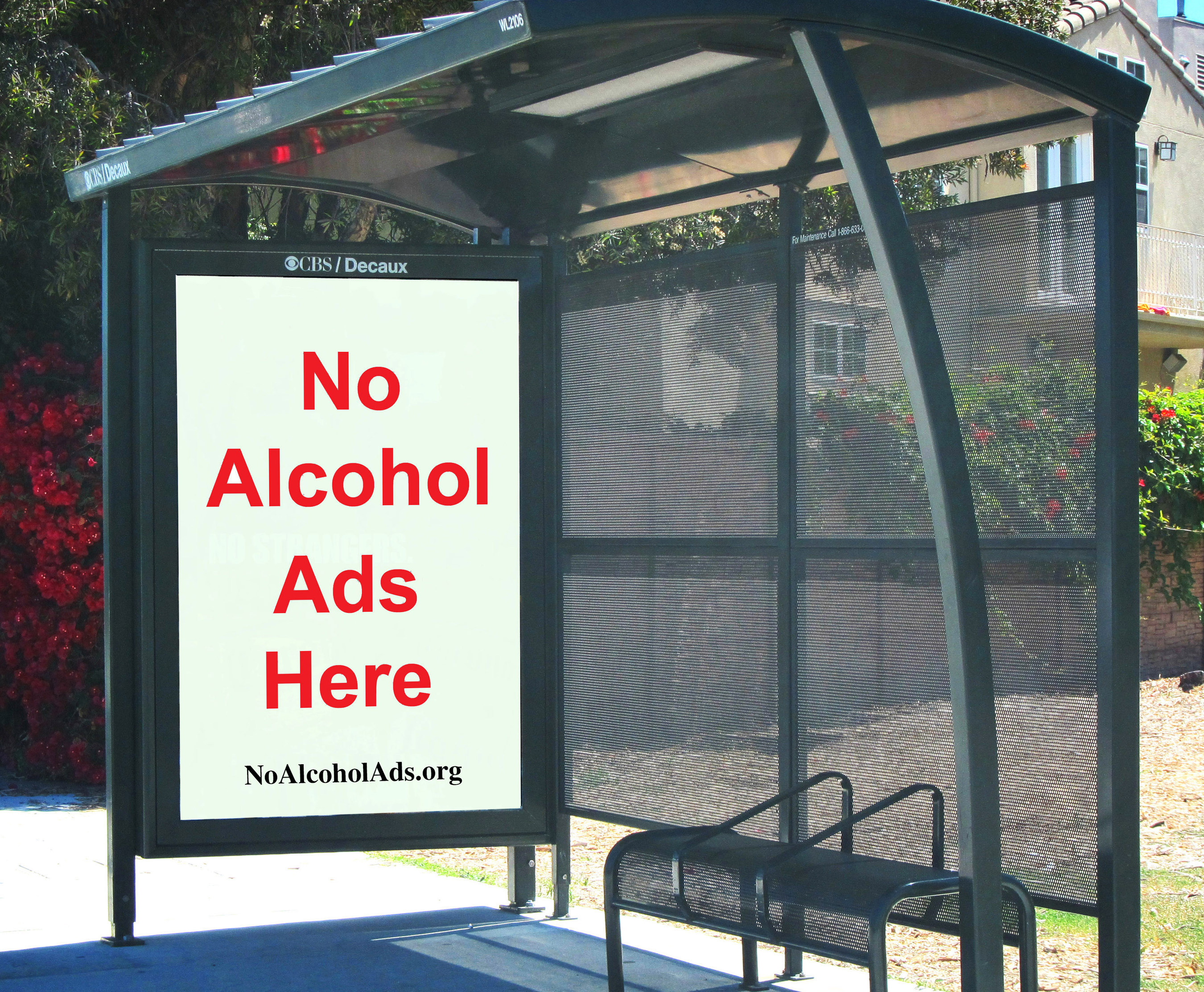 l a bus shelters minus booze ads equals public health victory historic los angeles city council vote bans alcohol ads from city owned controlled property