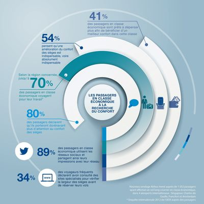 Infographic: Economy passengers on comfort
