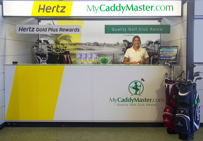 Hertz Portugal has launched a unique combined car and golf equipment rental package in partnership with MyCaddyMaster (PRNewsFoto/The Hertz Corporation)