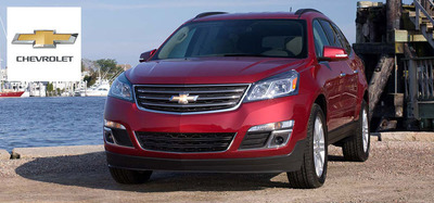 2014 Chevy Traverse models are now available. (PRNewsFoto/Osseo Automotive)
