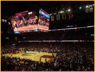 BBVA Compass' agreement with the Cleveland Cavaliers, the 2015 Eastern Conference Champions, includes in-stadium advertising during games, advertisements on the team's website and social media channels, and bank-branded promotional events.