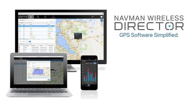 Navman Wireless DIRECTOR blends usability with data rich sophistication.