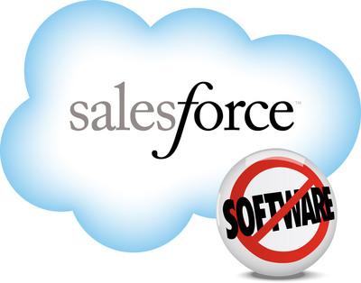 Salesforce.com logo. (PRNewsFoto/salesforce.com)