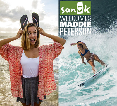 Sanuk Welcomes Surf Sensation Maddie Peterson to Women's Ambassador Program