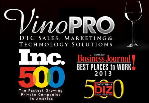 VinoPRO logo.  (PRNewsFoto/VinoPRO, Inc)